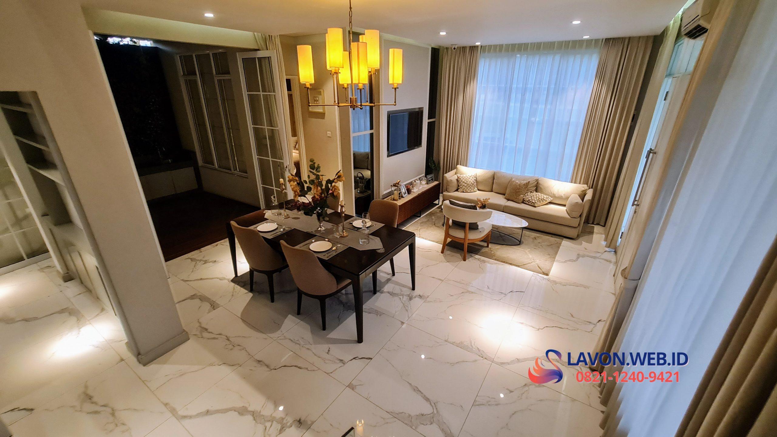 Lavon Swan City Tipe E Living Room