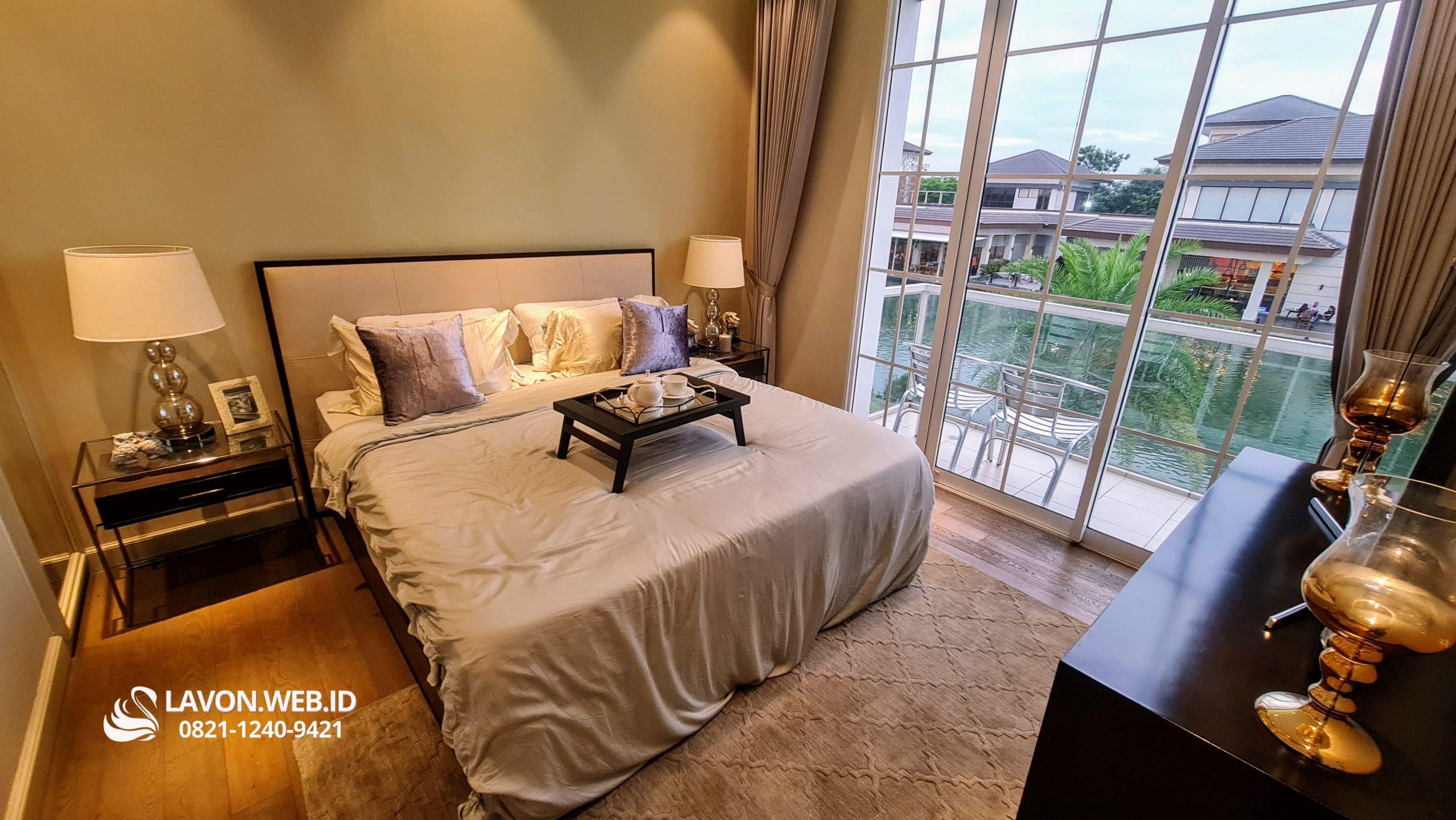 Lavon Swan City Tipe E Master Bedroom