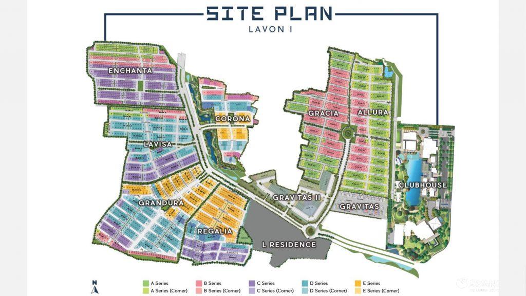 Lavon 1 Siteplan