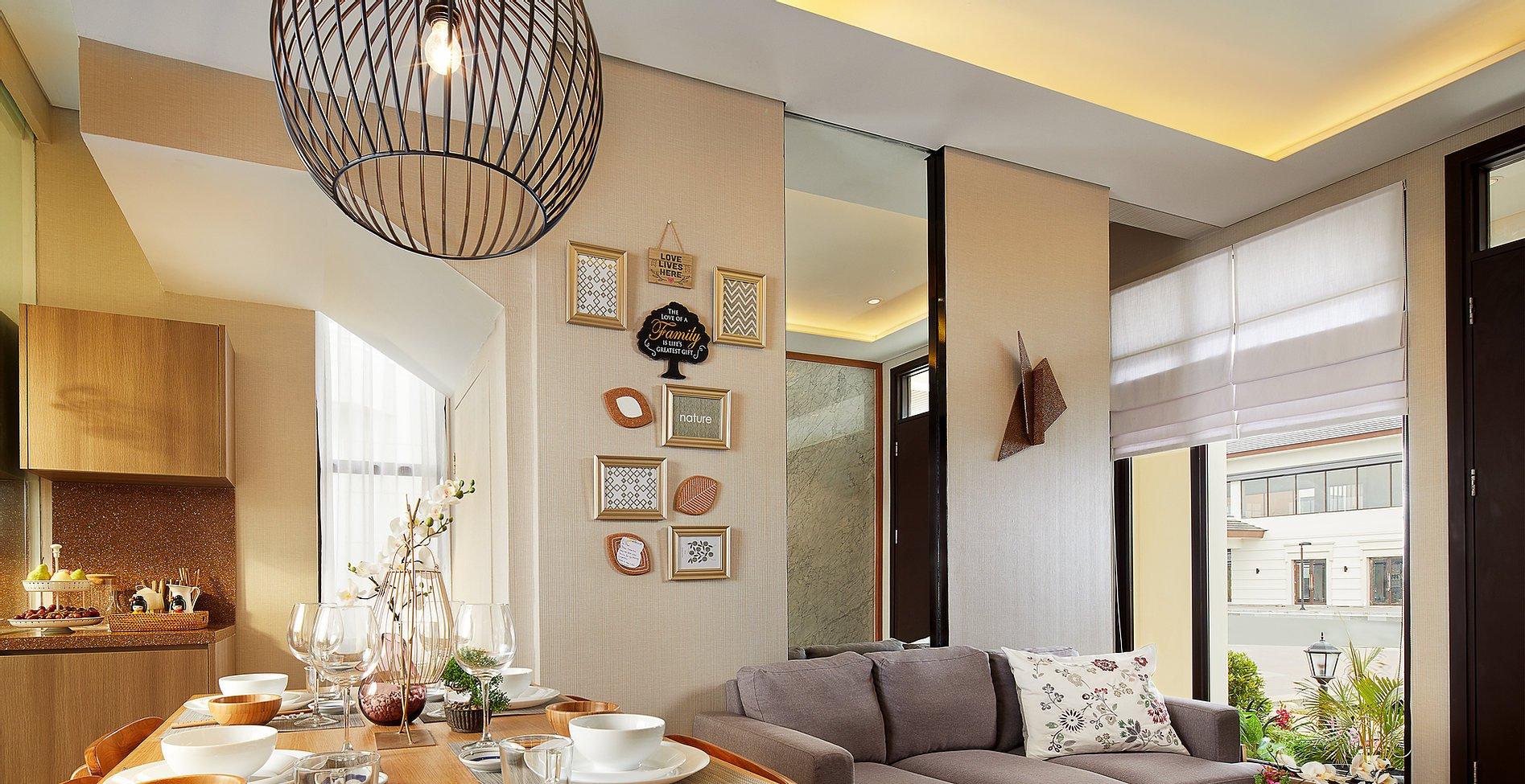 Lavon Swan City tipe C living room