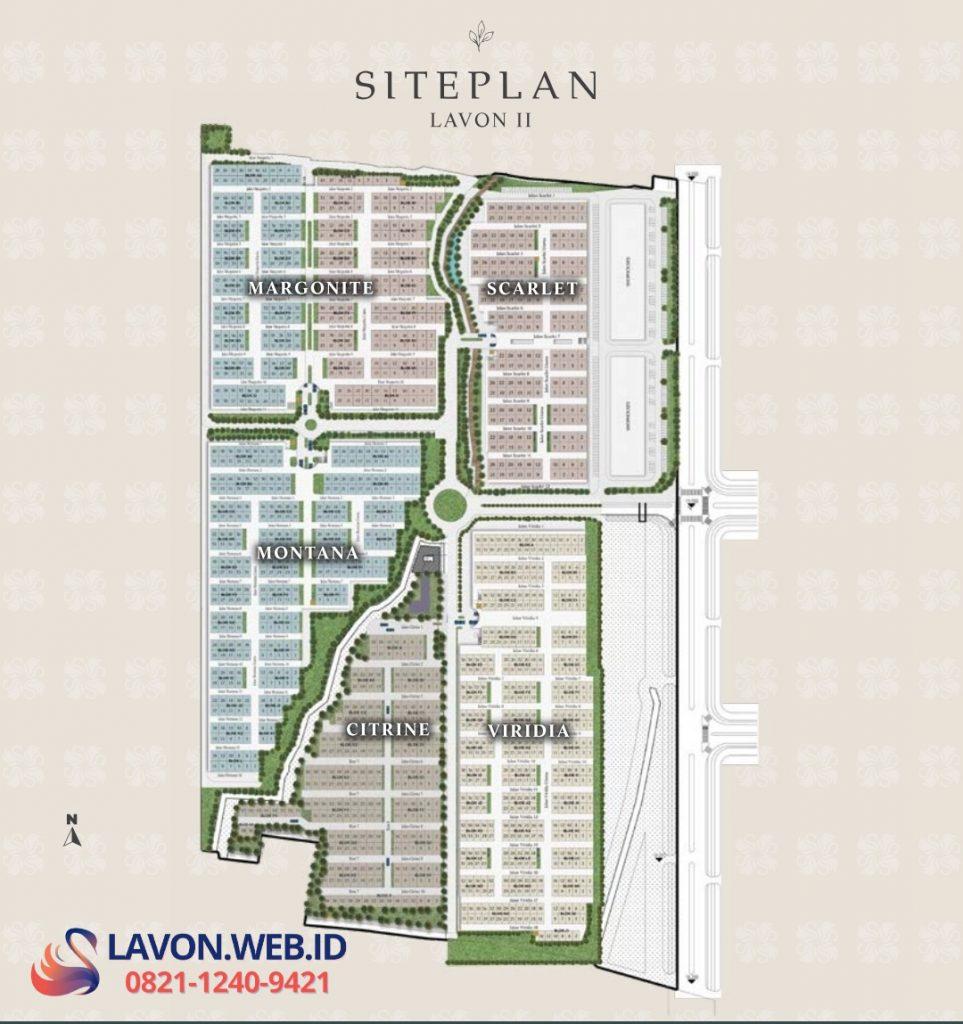 Siteplan Lavon 2