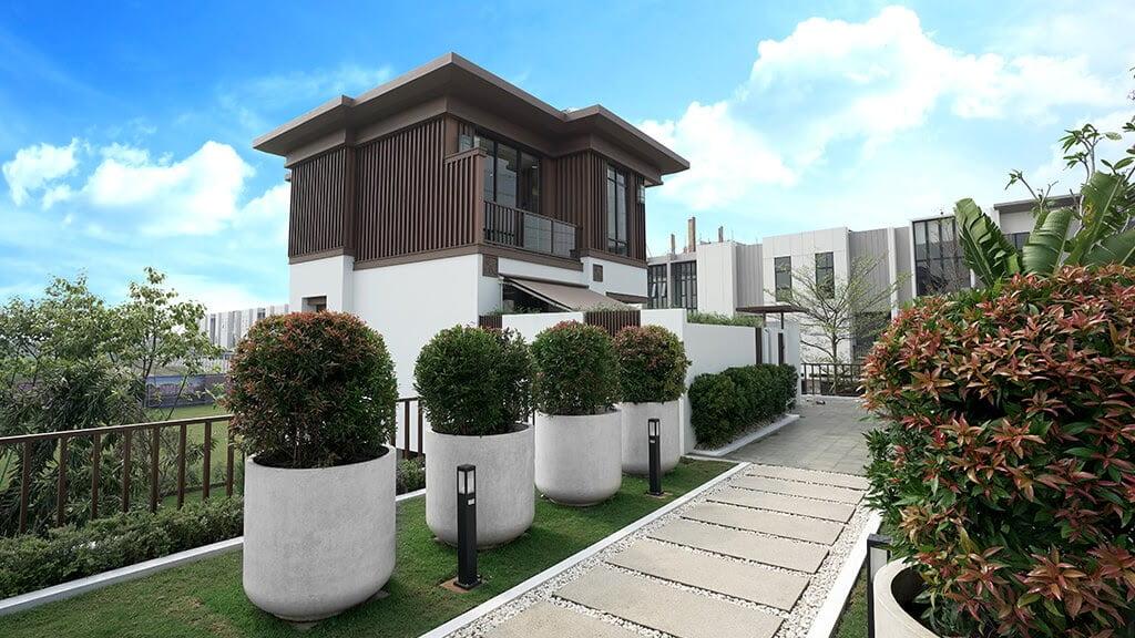 lavon Daisan swan city Courtyard