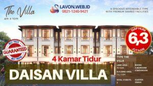 Harga Daisan Swan City Tipe Villa