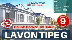 Harga Lavon Swan City Tipe G 2021